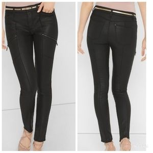 White House Black Market The Skinny Coated Jeans